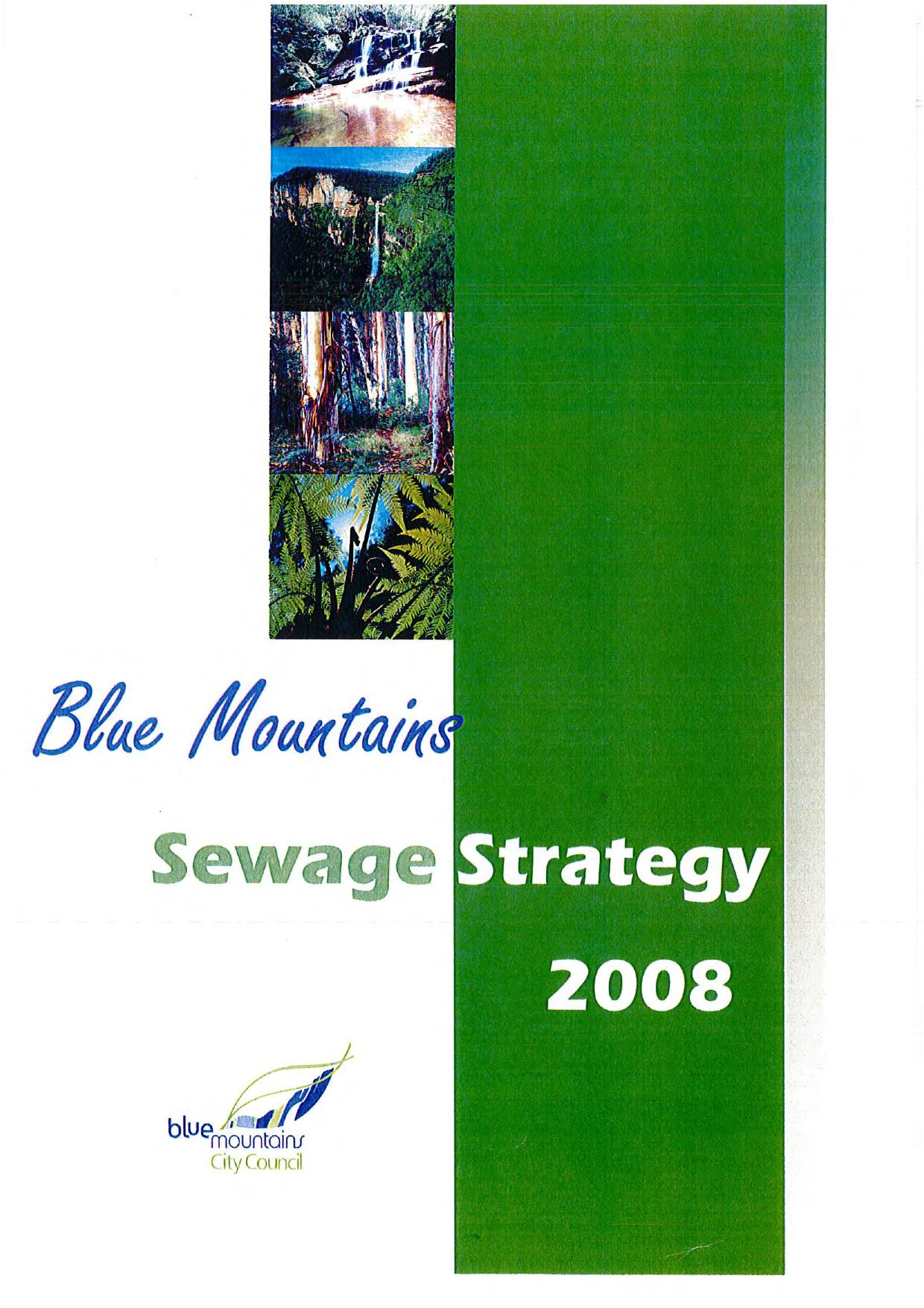 Sewage Strategy