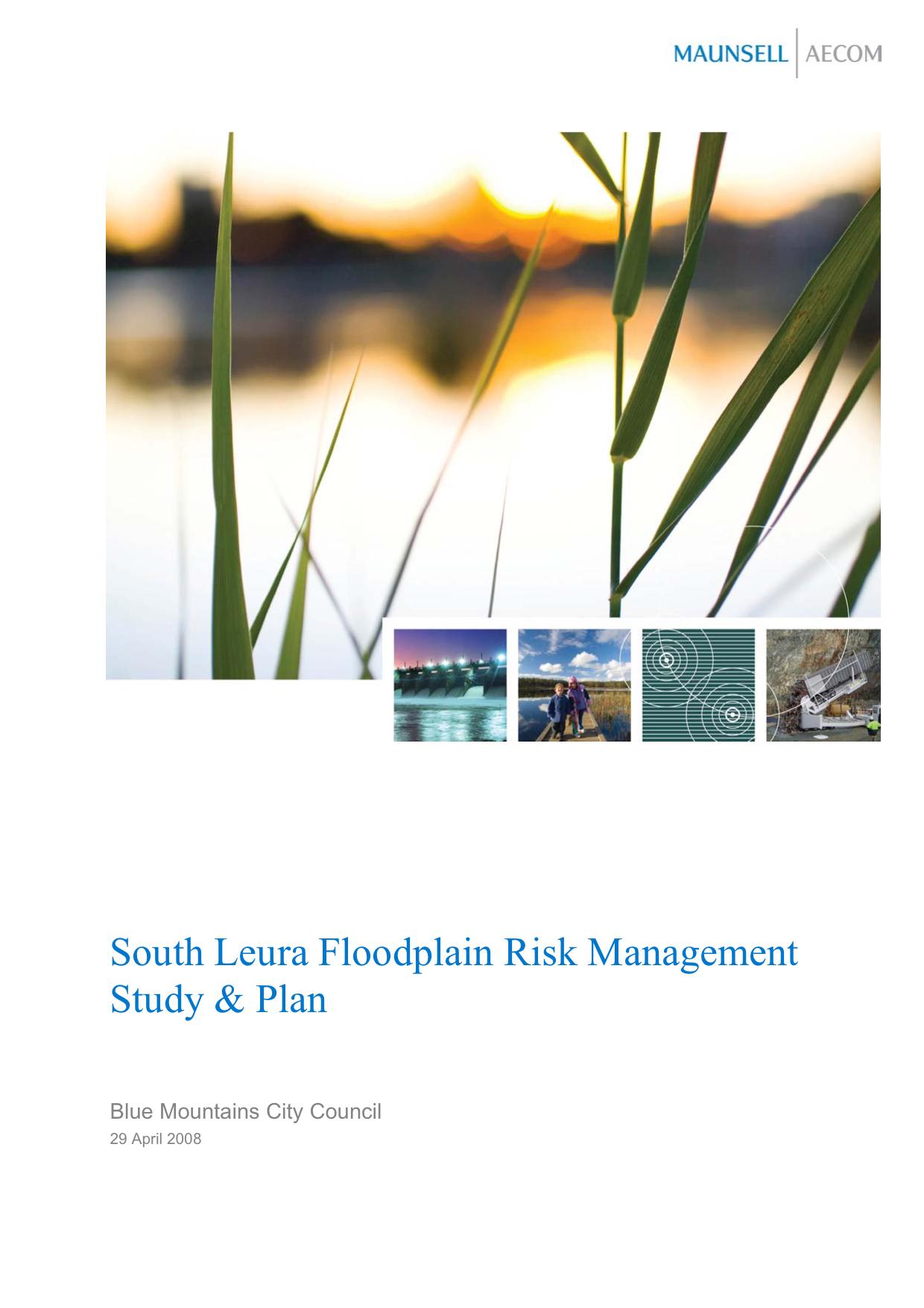 South Leura Floodplain Risk Management Study and Plan