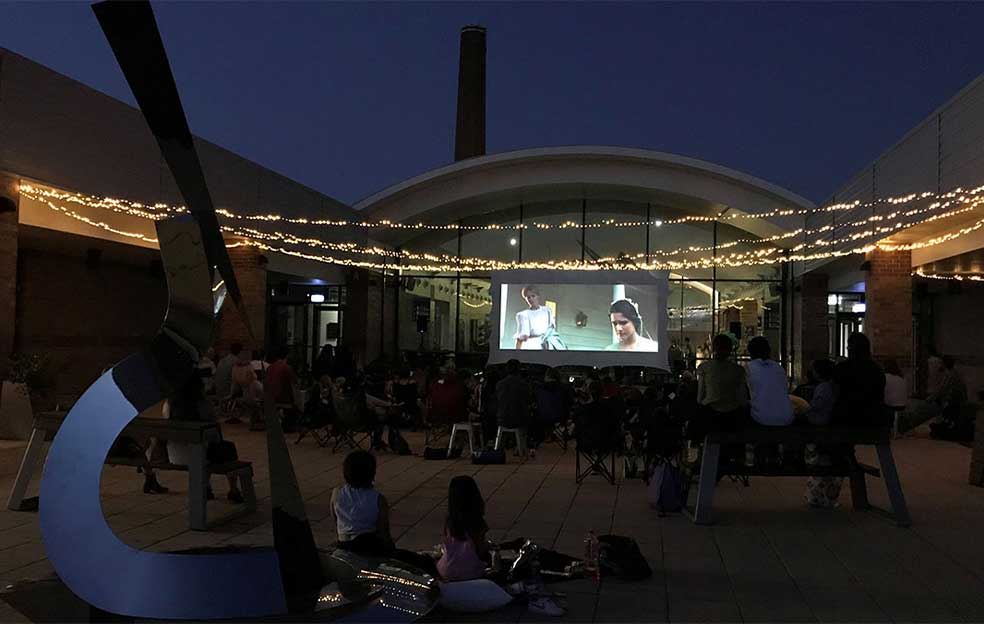 Cinema under the stars at the Blue Mountains Cultural Centre